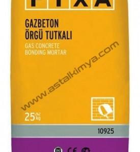 GAZBETON ÖRGÜ TUTKALI-ÇİMENTO ESASLI-FİXA