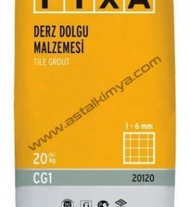 DERZ DOLGU MALZEMESİ (1-6 mm)-ÇİMENTO ESASLI-FİXA