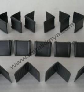 Köşebent - Plastik Siyah ,Mini ,12 - 16 mm, PLASTİK ÇEMBER BAĞLAMAK İÇİNDİR.