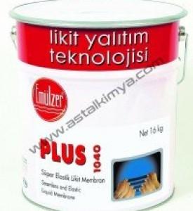 Emülzer Plus - 1040- BİTÜMLÜ,Likit Membran, SOLVENTLİ, SU ve RUTUBETE DAYANIKLI  SOLUSYON