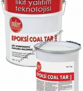 EMÜLZER, Epoxy Coal Tar 85/15 Katran Esaslı Solventsiz Epoksi Boya ve YALITIM MALZEMESİ