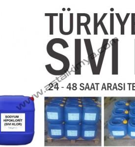 SIVI KLOR, LİQUID-SODIUM,HYPOCHLORIDE